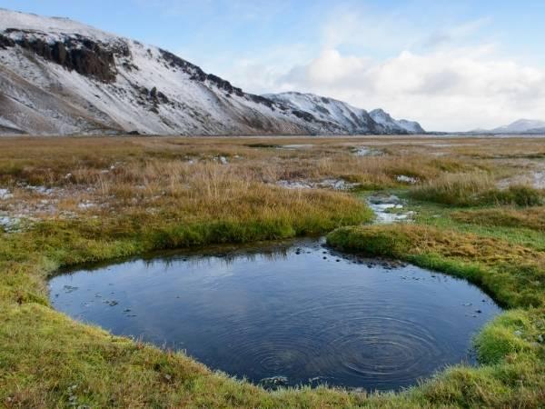 Iceland Hotspring Landmannalaugar