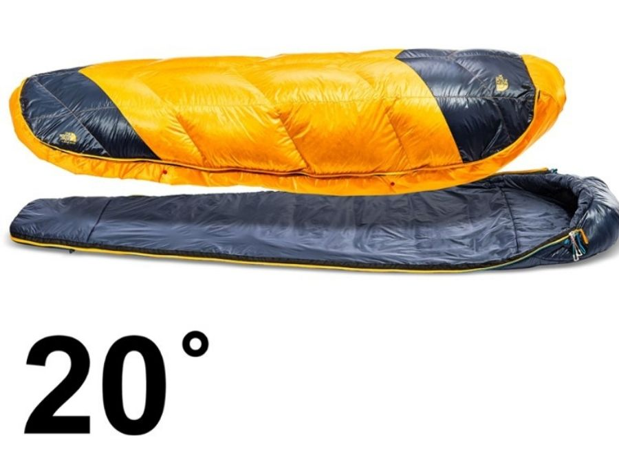 Layers The North Face - Sleeping bag the one