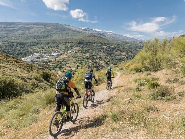 Mountainbike tour in spain