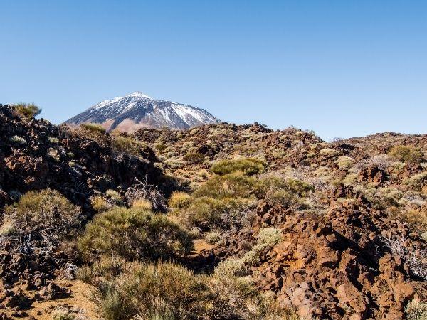Peak of Mount Teide - Spain