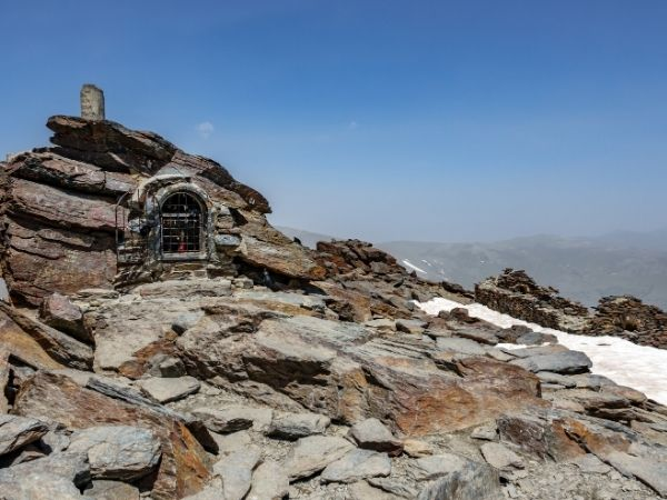 Peak of the Mulhacen Mountain - Spain hiking
