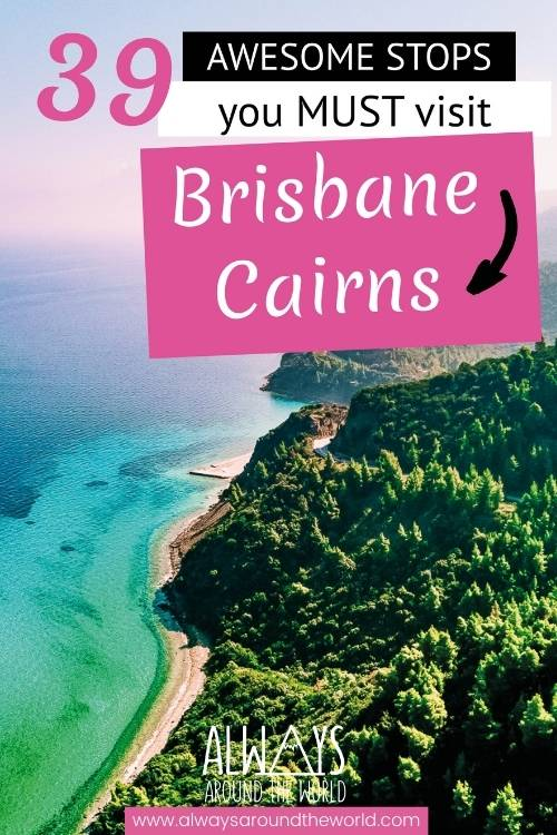 Pin Australia Brisbane to Cairns