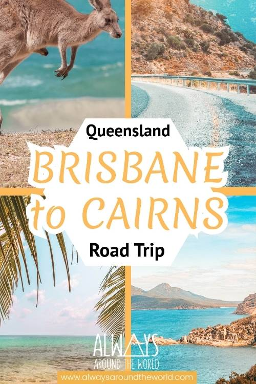 Pinterest pin Australia Brisbane Cairns