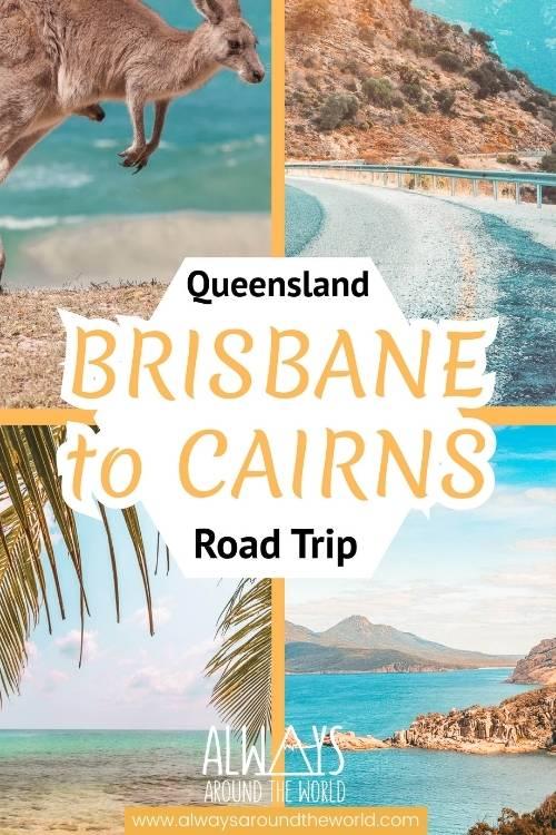 Pinterest pin Australia Brisbane Cairns