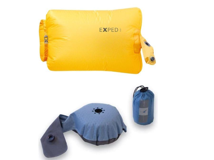Pump camping mattress