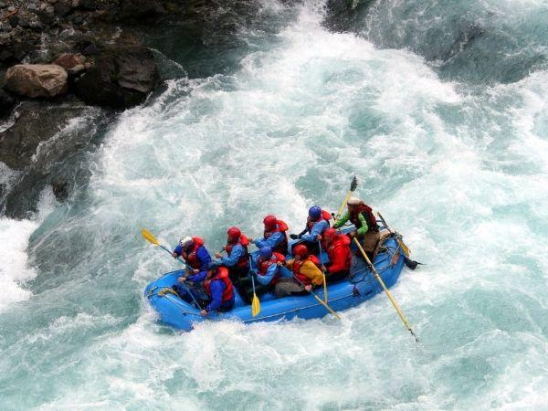 Rafting in Spain