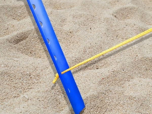 Sand tent stakes