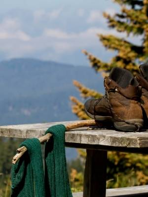 Socks and boots - Tropical Packing List