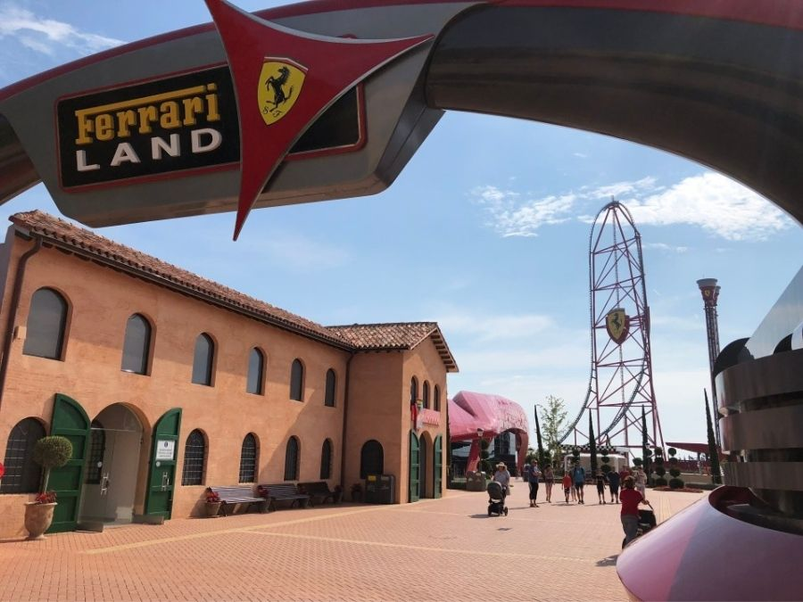 Spain - PortAventura & Ferrari Land Theme Parks