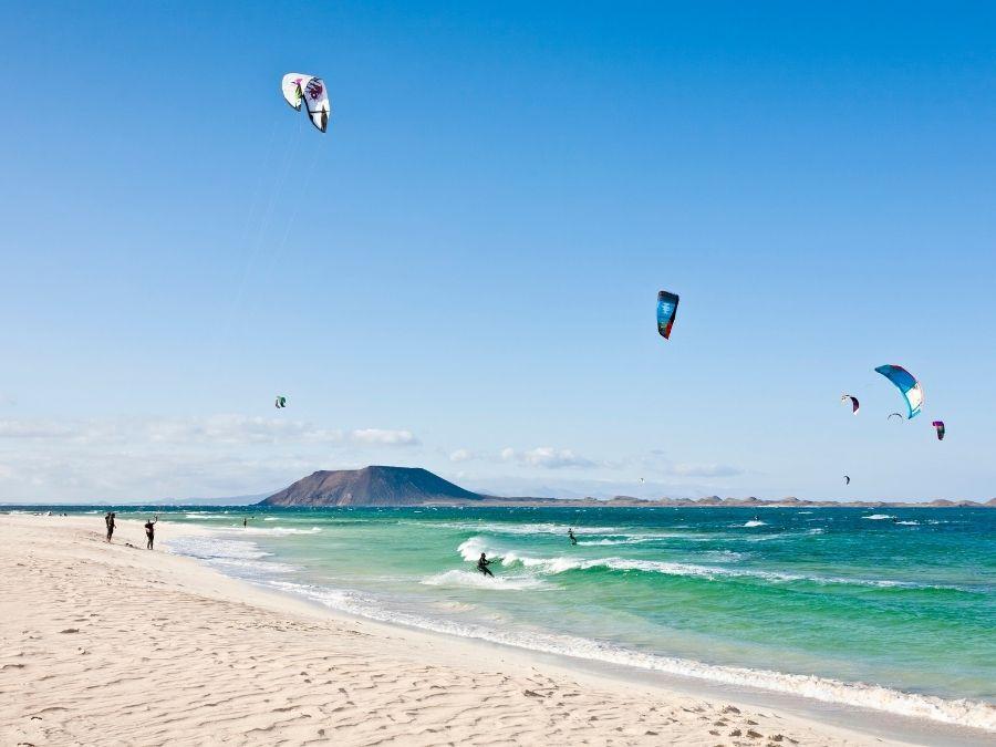 Spain - Surfing Fuerteventura