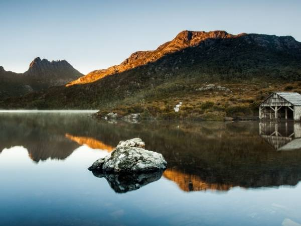 Tasmania hiking Cradle mountain