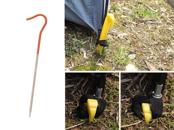 Tent stakes standard