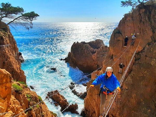 Via Ferrata de la Cala del Moli - Spain hike