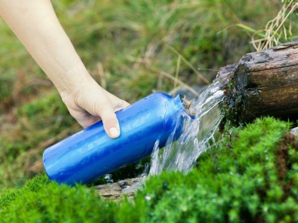 Water - Wild Camping