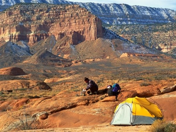 Wild Camping United States