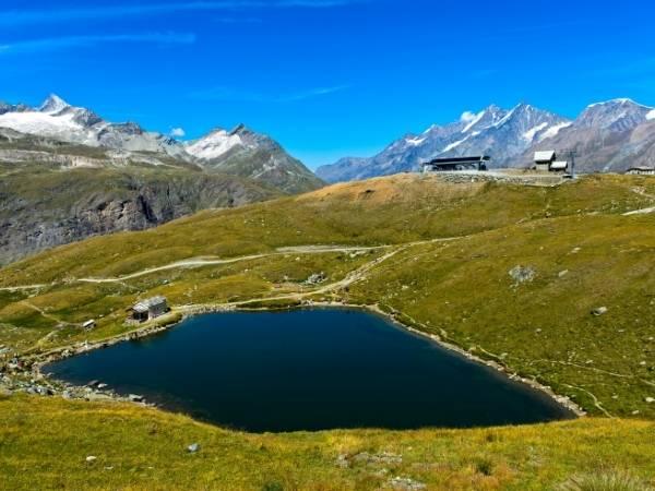 Zermatt - Schwarzsee lake