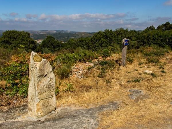 landscape Camino de Santiago