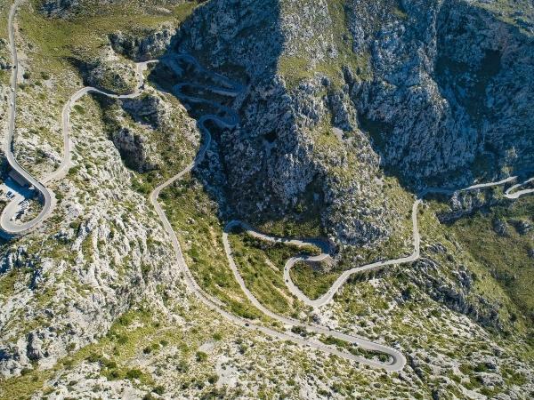 mallorca coast to coast roads