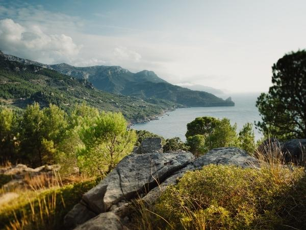 mallorca coast view