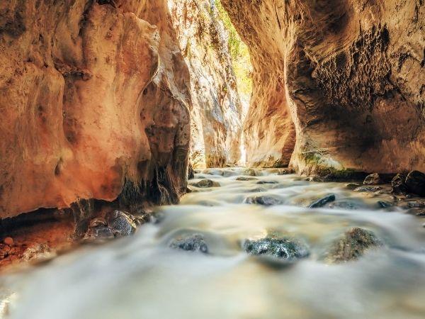 spain hike - Chillar river