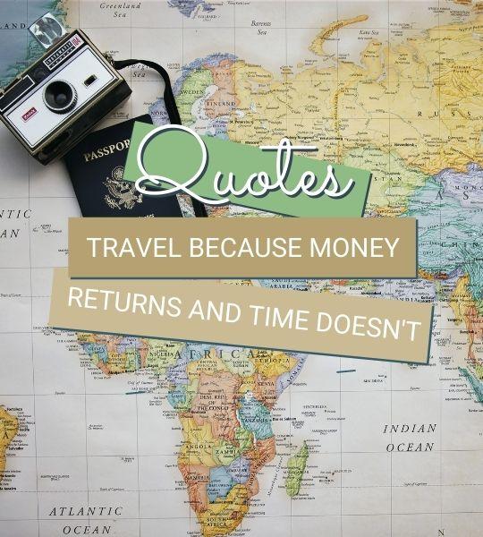 Always Around The World - Travel Quote