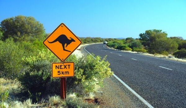 Australia - Traffic Sign