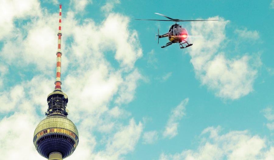 Berlin Flight Valentines Day
