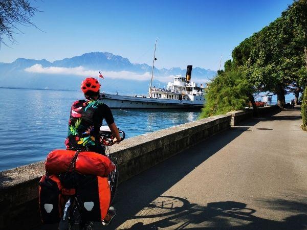 Bike touring Panniers Ortlieb