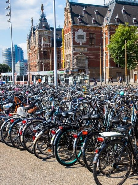 Bikes - netherlands Road Trip