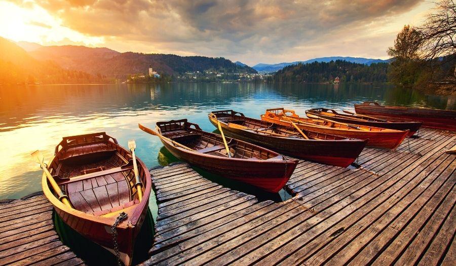 Bled Lake Boat Valentine