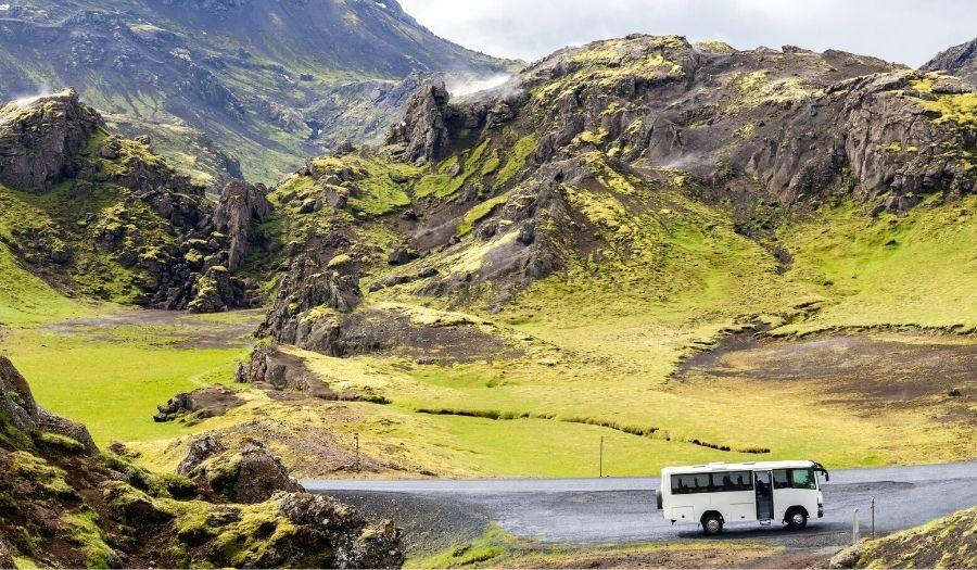 Bus - Iceland