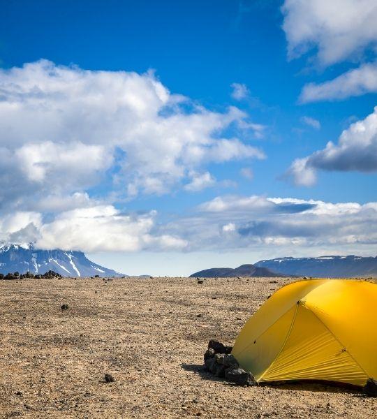 Camping Iceland Golden Circle