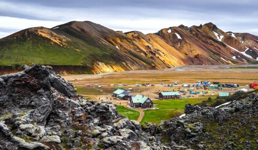 Campsite Iceland