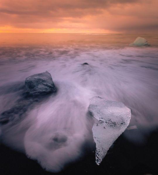 Diamond Beach Iceland Ice