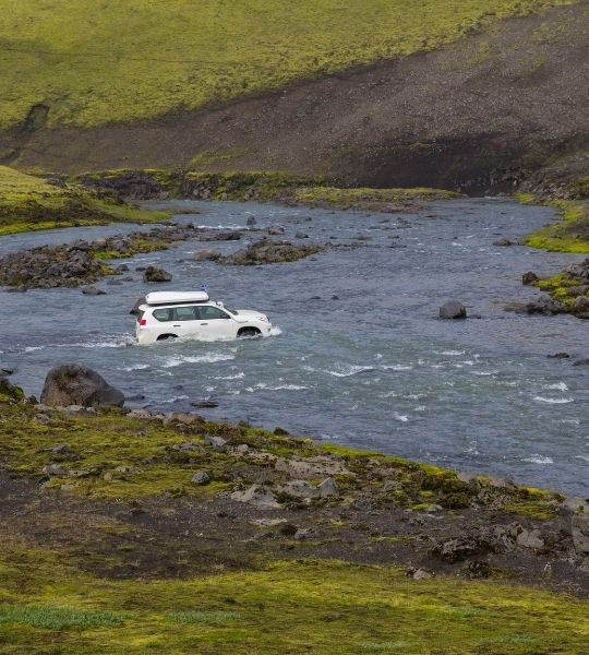 Driving the Golden Circle - Iceland