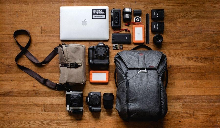 Electronics Packing list Bali