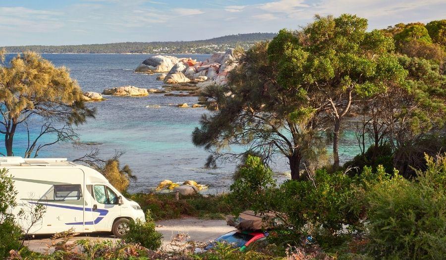 Free Camp Tasmania