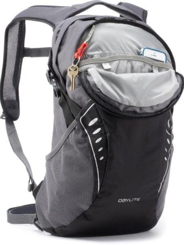 Front zipper + key clip - Osprey Daylite