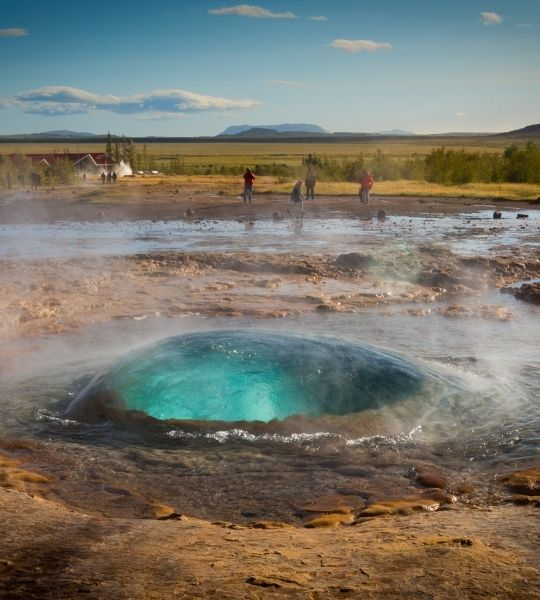 Geysir Blue - Golden Circle