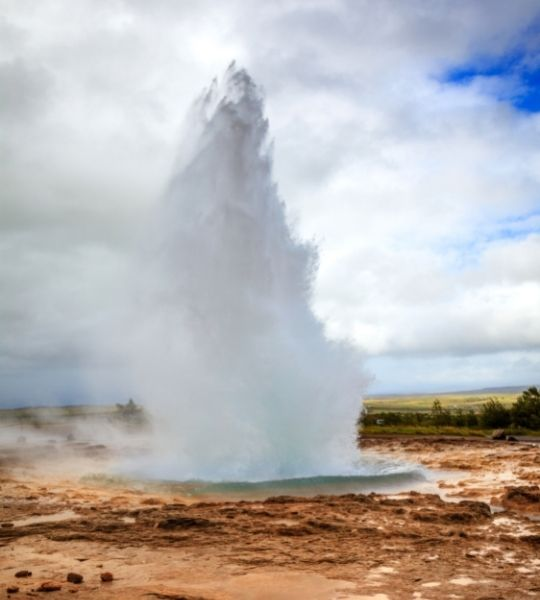 Geysir Iceland Golden Circle Route