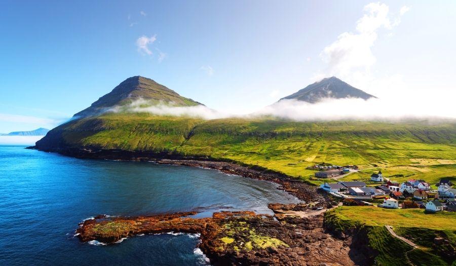 Gjogv Faroe Islands