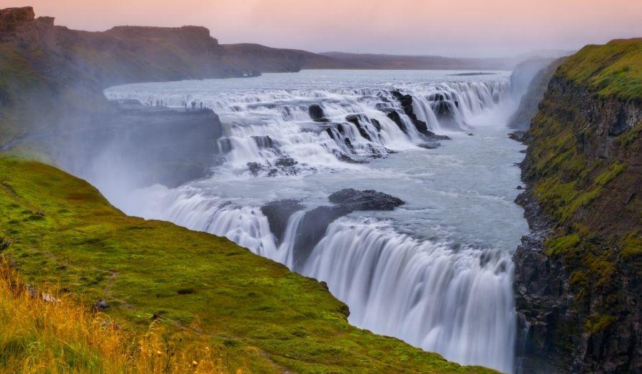 Gullfoss Iceland Golden Circle