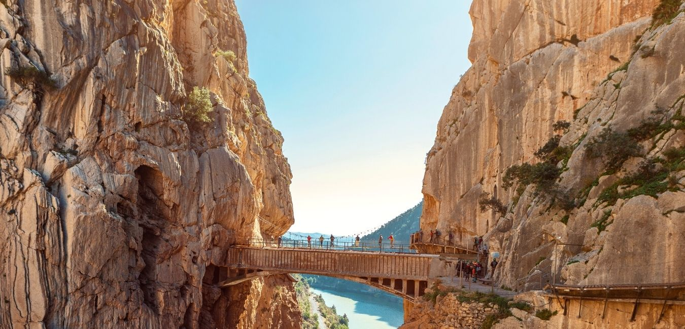Header Caminito Del Rey Spain Hiking