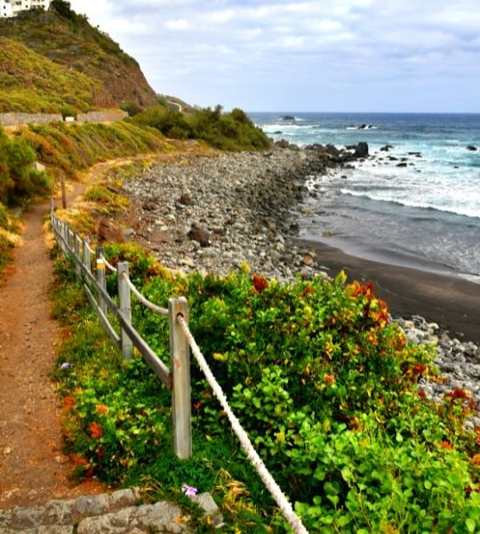 Hiking Coast Tenerife