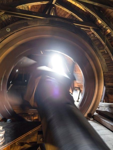 Inside Windmill - Kinderdijk