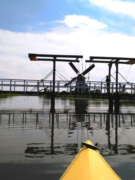 Kayak Kinderdijk