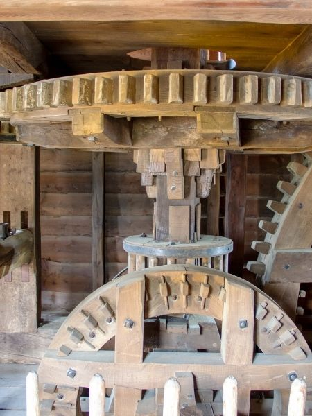 Kinderdijk - Inside a windmill