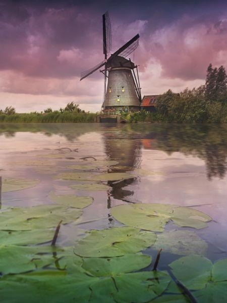 Kinderdijk - history