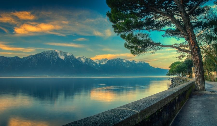 Lake Geneva - Bike Tours Switzerland