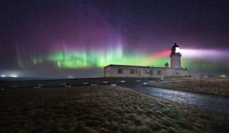 Northern Lights Isle of Skye